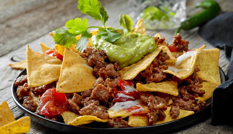 Ricetta Salsa Nachos Al Formaggio.Ricetta Nachos Con Carne Piccante Ricette Kenwood Club